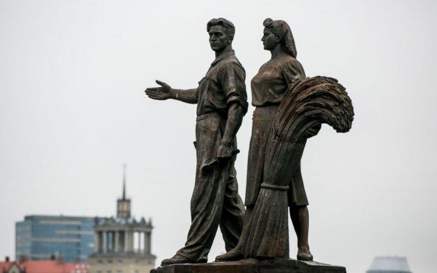 Nowy mer Wilna za usunięciem sowieckich rzeźb z Zielonego mostu