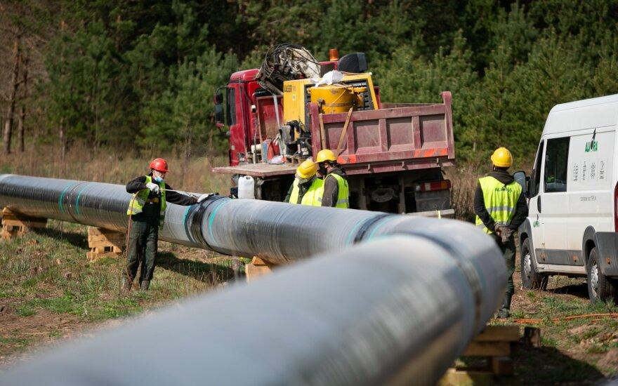 GIPL dujotiekio statybos