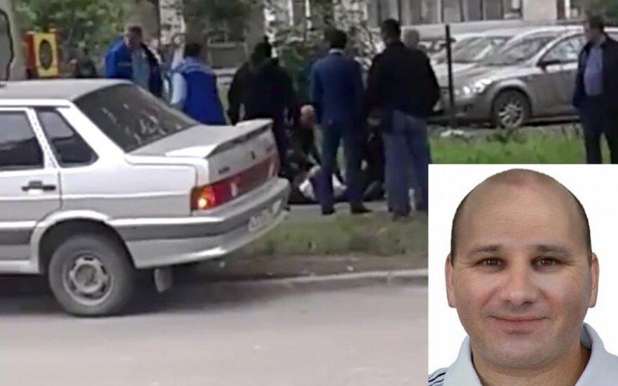 В Екатеринбурге задержан убийца из Литвы Ромас Замольскис