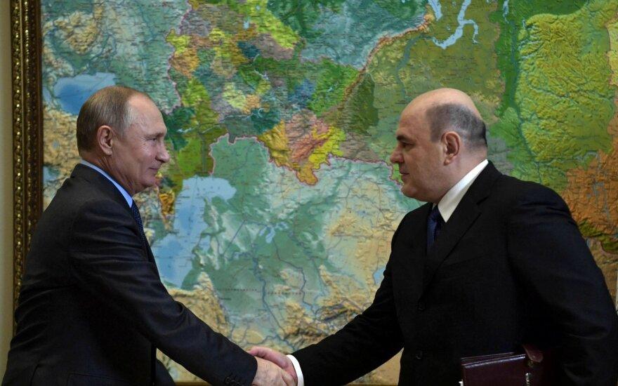 Michailas Mišustinas, Vladimiras Putinas