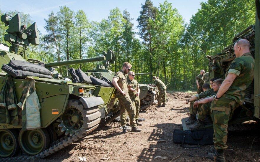 Сменился командующий размещенной в Литве боевой группы сил НАТО