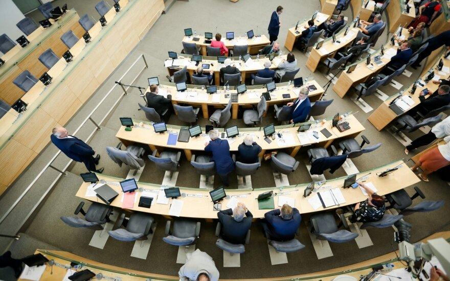 За прогулы депутатов Сейма Литвы будут лишать зарплат