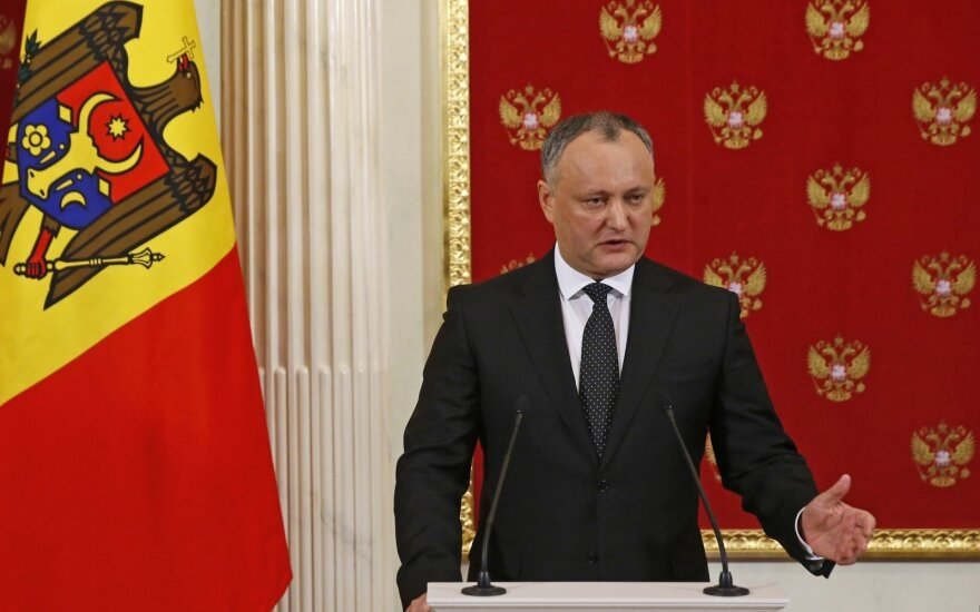 Президент Молдавии госпитализирован после ДТП