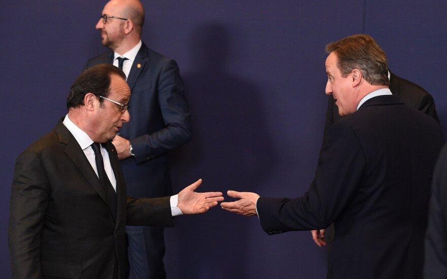 """Кэмерон: последний саммит ЕС прошел в атмосфере """"печали и сожаления"""""""