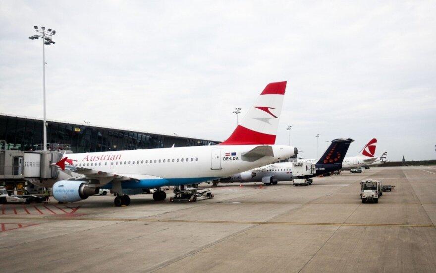 """Air Lituanica"" skrydis: Vilnius - Briuselis"