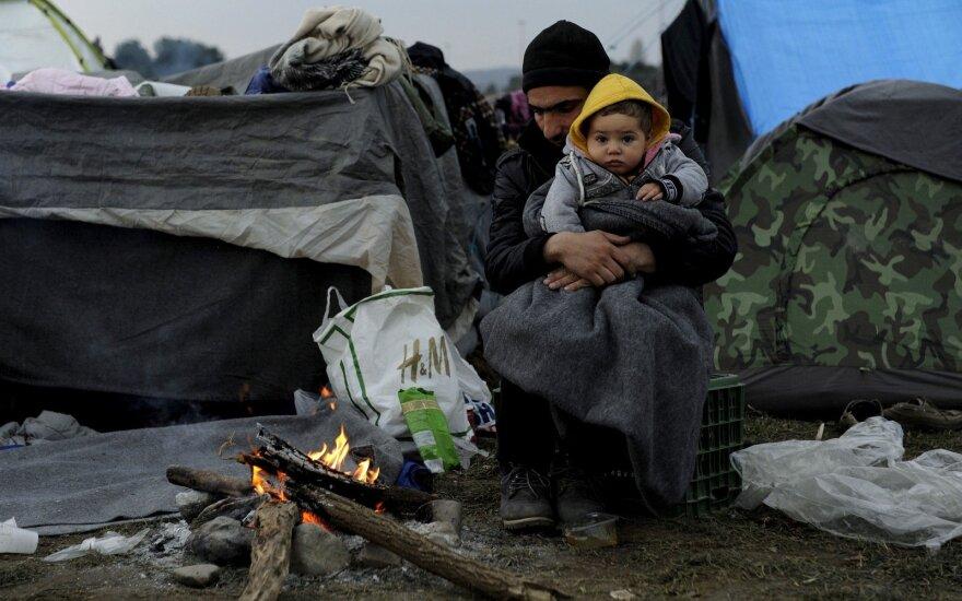 Литва пошлет в Грецию гуманитарную помощь беженцам