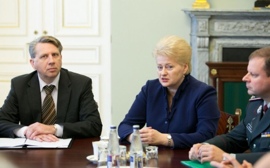 Darius Valys, Dalia Grybauskaitė ir Saulius Skvernelis
