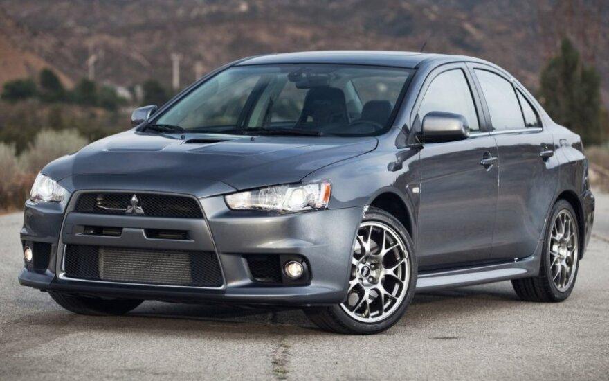Новый Mitsubishi Lancer Evolution станет гибридом