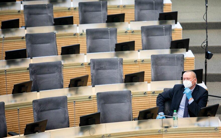 Премьер и министр финансов Литвы отказались отвечать на вопросы оппозиции