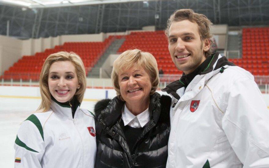Deividas Stagniūnas, Lilija Vanagienė, Isabella Tobias