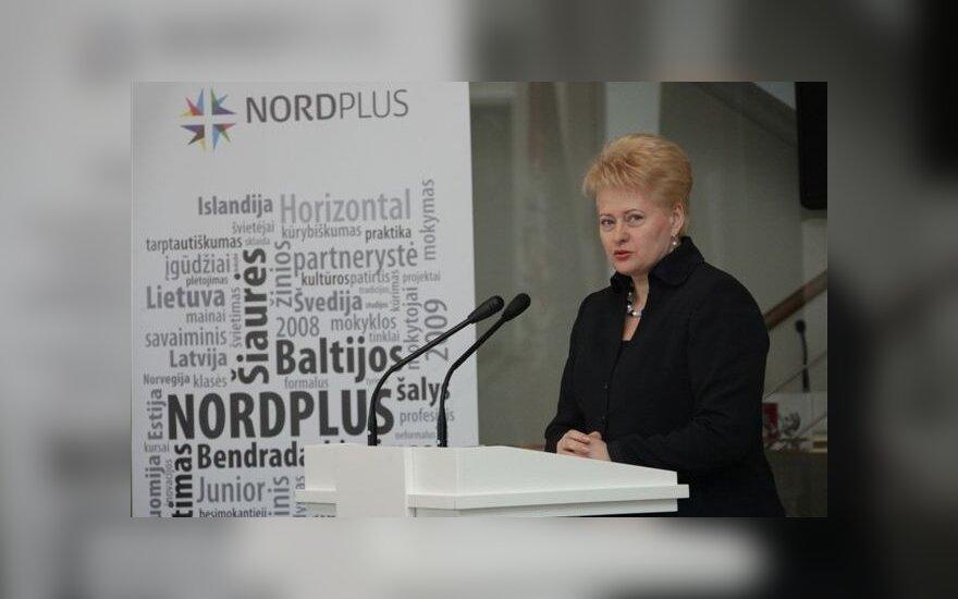 Президент Литвы: в атмосфере раздора виноваты все политические группы