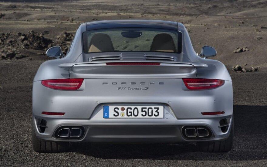 Nauji Porsche modeliai – 911 Turbo ir 911 Turbo S