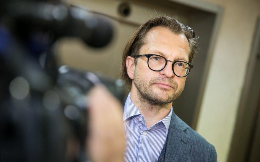 Министр культуры увольняет своего советника Контримаса