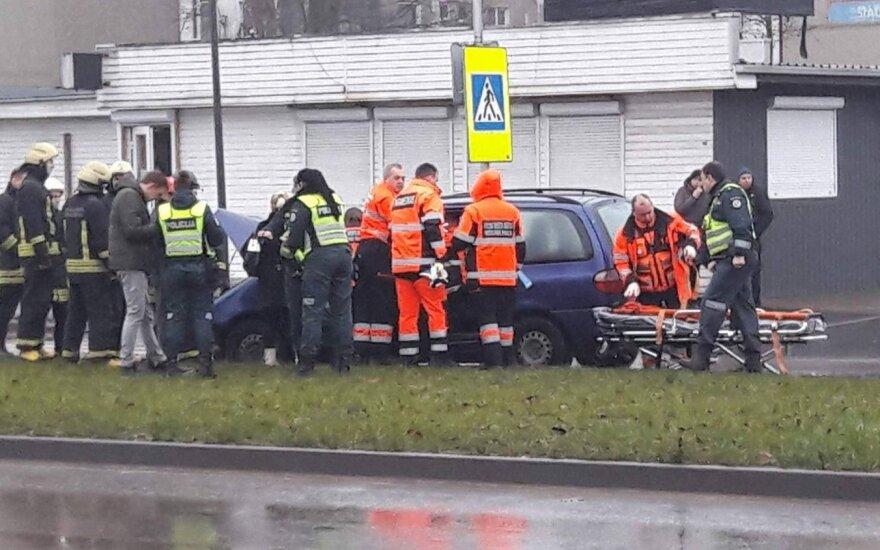 Большое ДТП в Каунасе: виновник был пьян