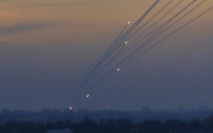 """""""Hamas"""" raketos iš Gazos ruožo"""