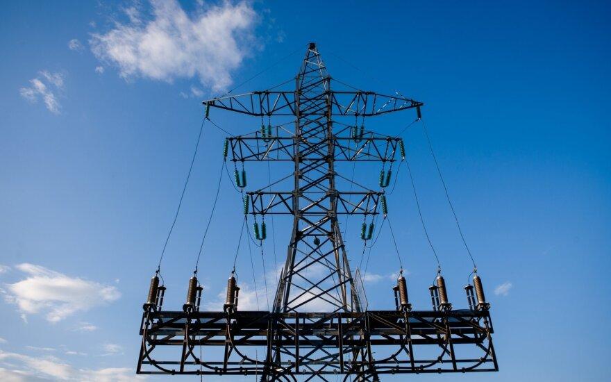 Цена на электроэнергию на бирже в Литве снизилась в два раза