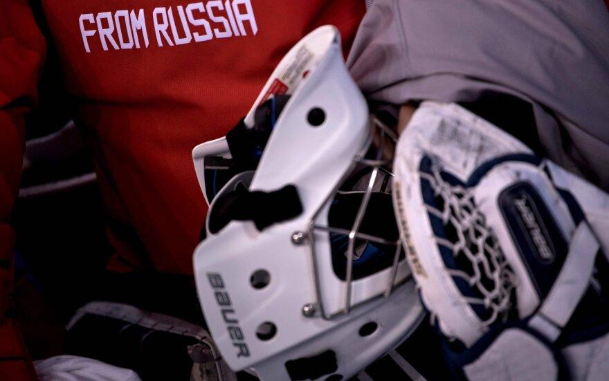 Rusijos sportininkai žiemos olimpiadoje