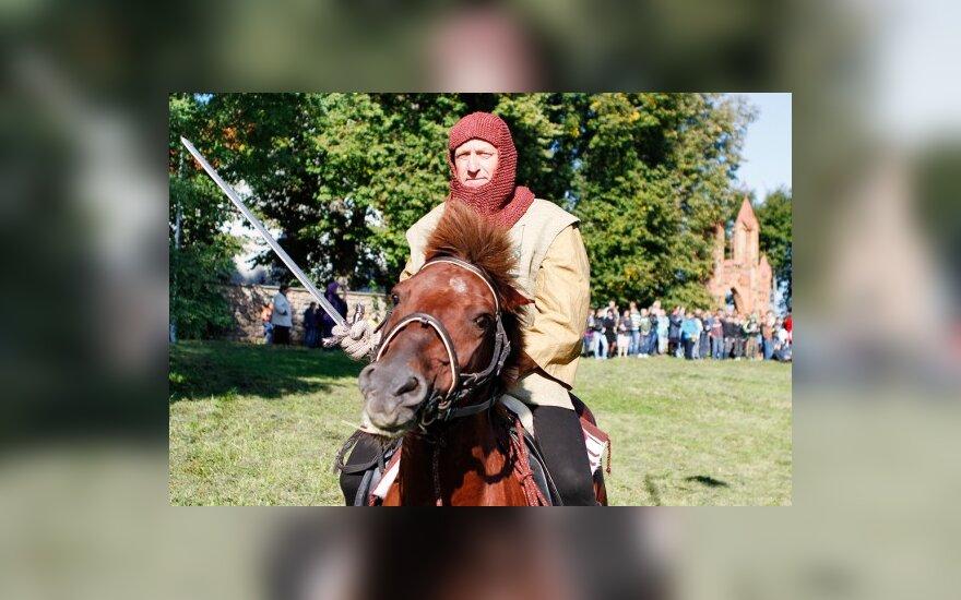 Литовские всадники ВКЛ прибыли в Беларусь