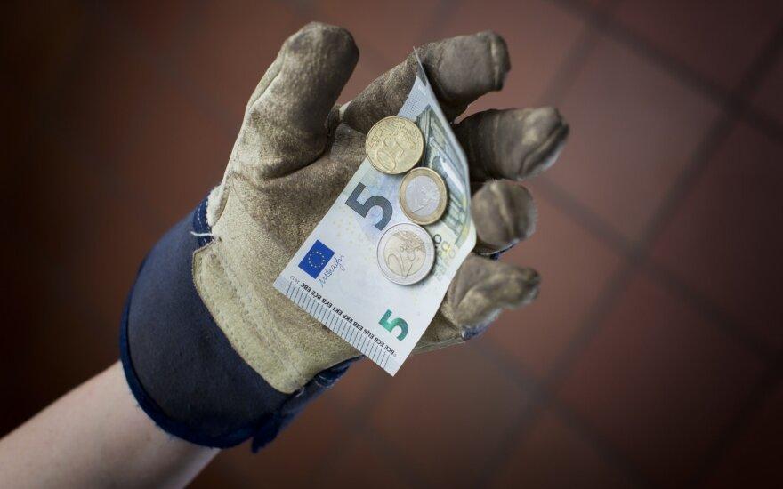 Рaстет средняя зарплата в Литве