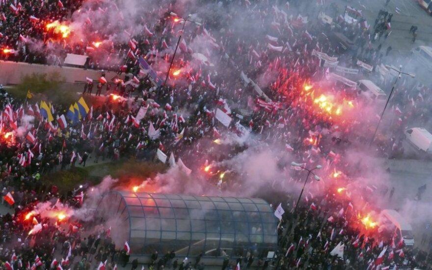 """""""Marsz Niepodległości"""" w Warszawie"""