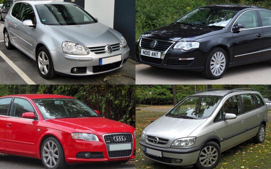 Populiariausi automobiliai Lietuvoje