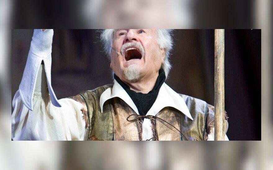 Российский актер Владимир Зельдин отмечает 100-летний юбилей