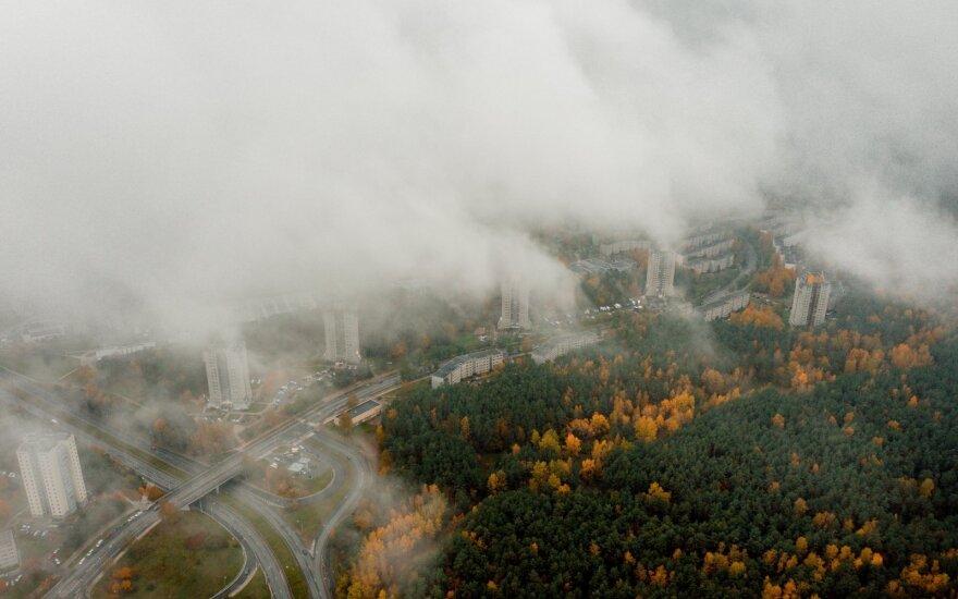 В Литве установится облачная и сырая погода