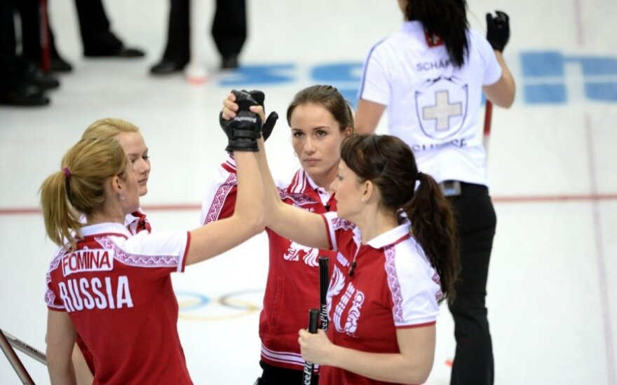 Российские керлингистки прервали серию неудач на Олимпиаде