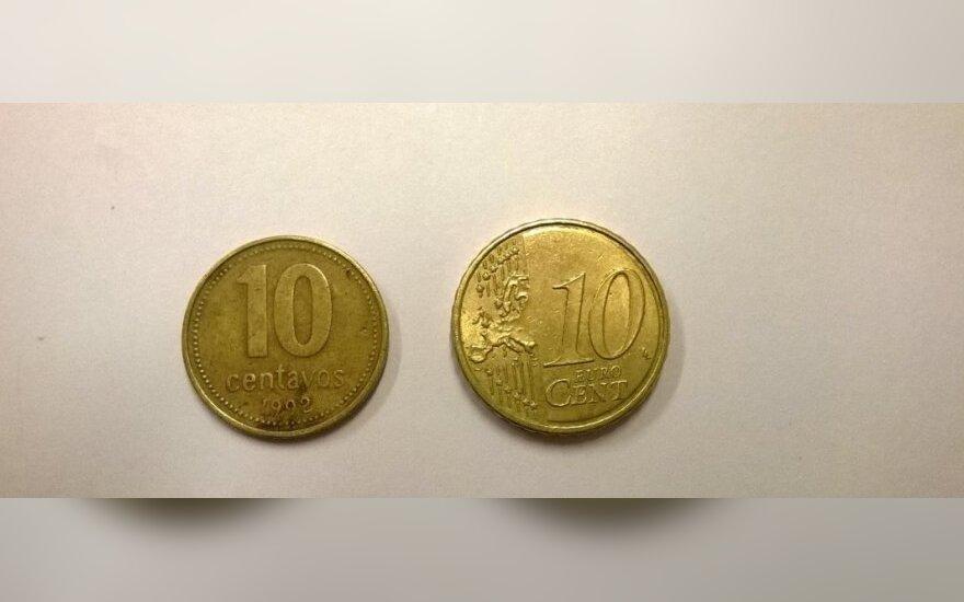 Жители удивляются, какие монеты получают вместо евроцентов