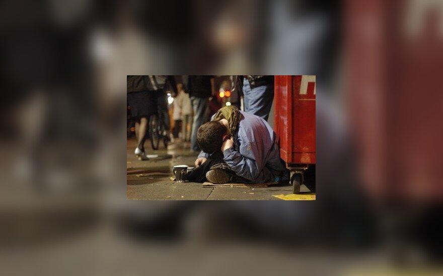 В Вильнюсе запретили просить милостыню на улице