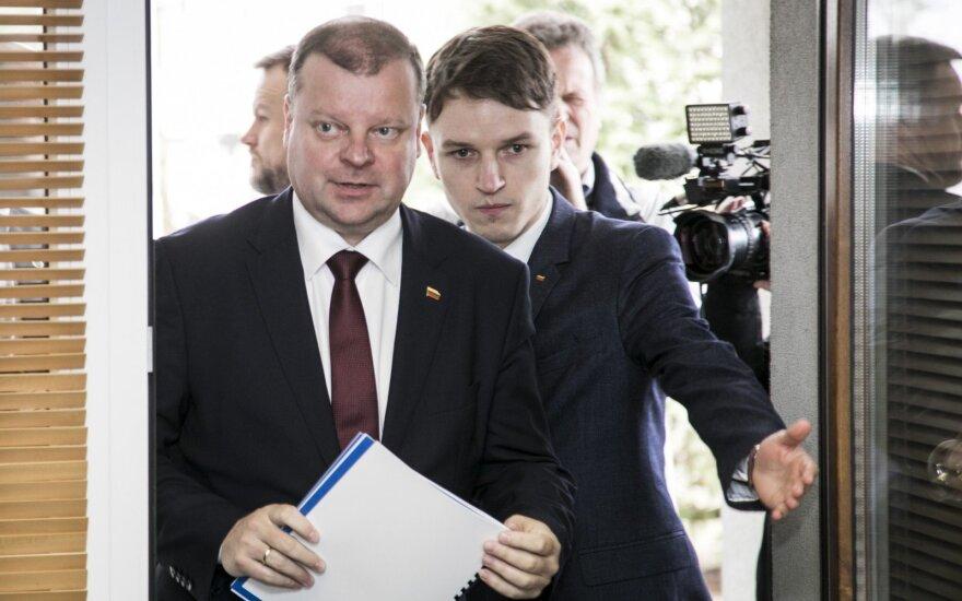 Saulius Skvernelis, Linas Kojala