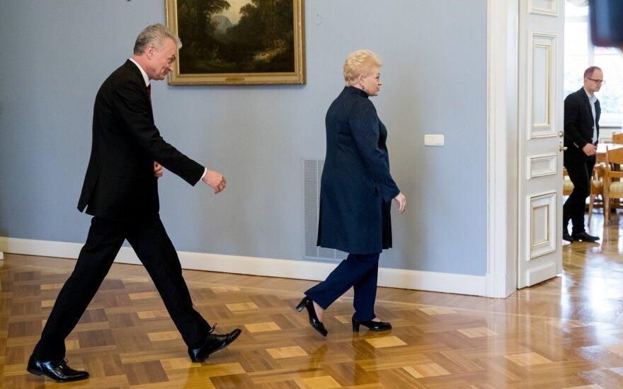 Gitanas Nausėda ir Dalia Grybauskaitė