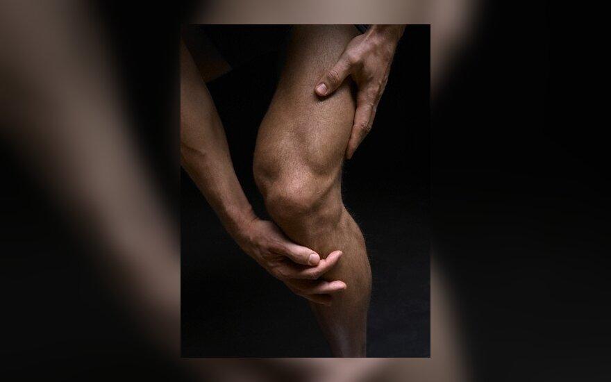 Из Нямунаса достали человеческую ногу