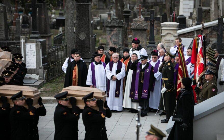 В Вильнюсе торжественно перезахоронены останки участников Восстания 1863–1864 годов