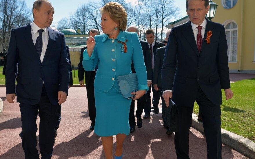 Vladimiras Putinas, Valentina Matvijenko, Sergejus Naryškinas