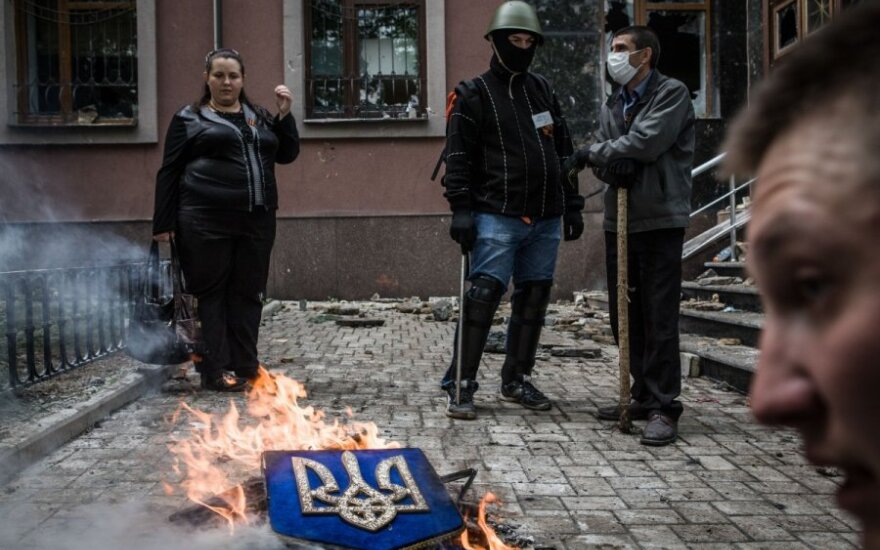 СМИ: в Донецке террористы готовятся штурмовать воинскую часть