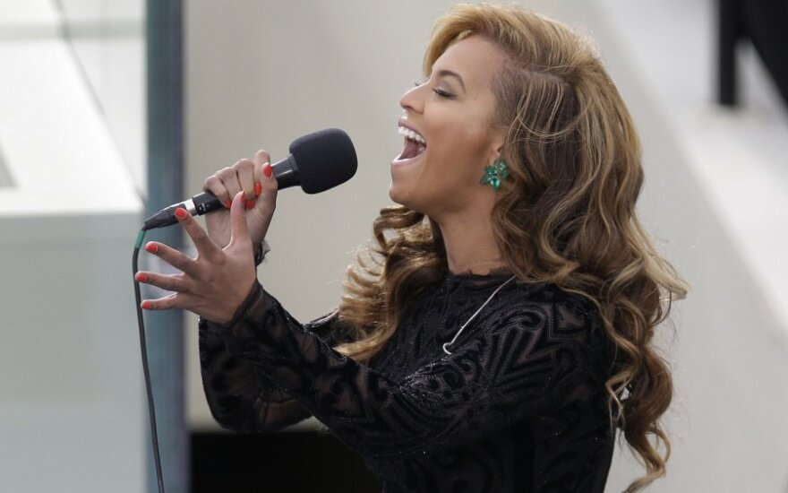 Beyonce per Baracko Obamos inauguraciją