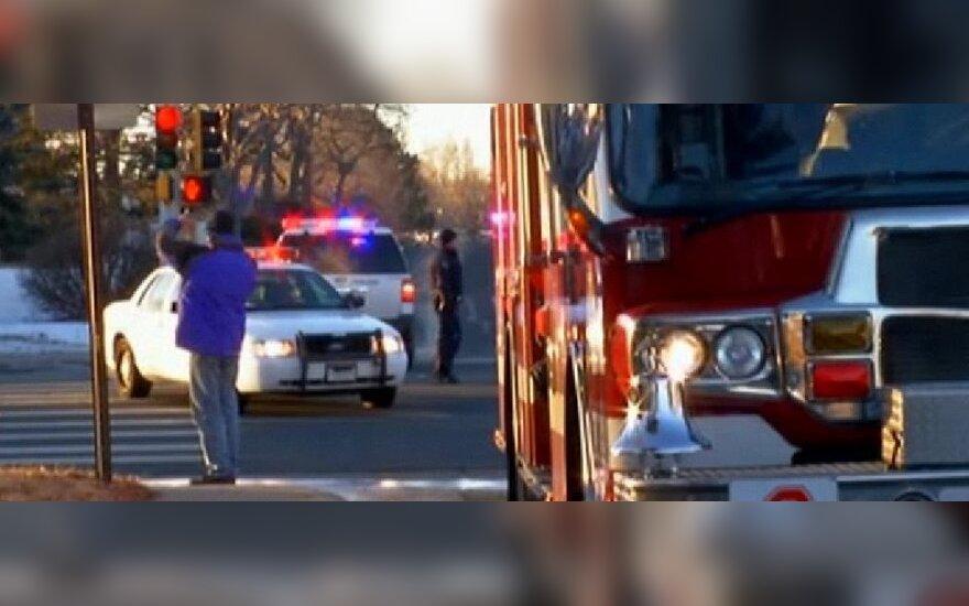 Šaudynės JAV: po šešias valandas trukusios dramos šaulys nukautas