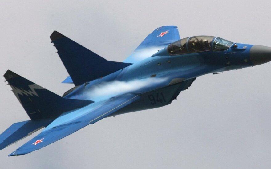 Над Балтийским морем - высокая активность самолетов ВВС России