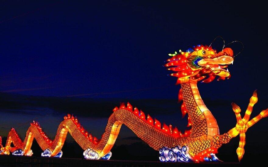 Первый раз в Литве – фестиваль огромных китайских фонарей