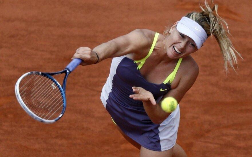 """Шарапова: """"в финале Roland Garros мы с Сереной начнем с нуля"""""""