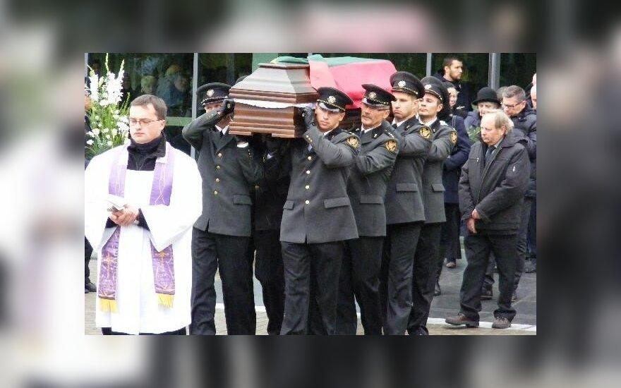 Audriaus Šenavičiaus laidotuvės