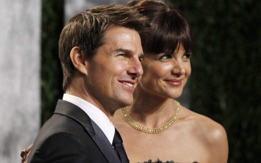 Tom Cruise ir Katie Holmes