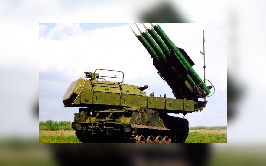 Zenitinis raketinis kompleksas (ZRK) BUK-M1. vpk-news.ru nuotr.