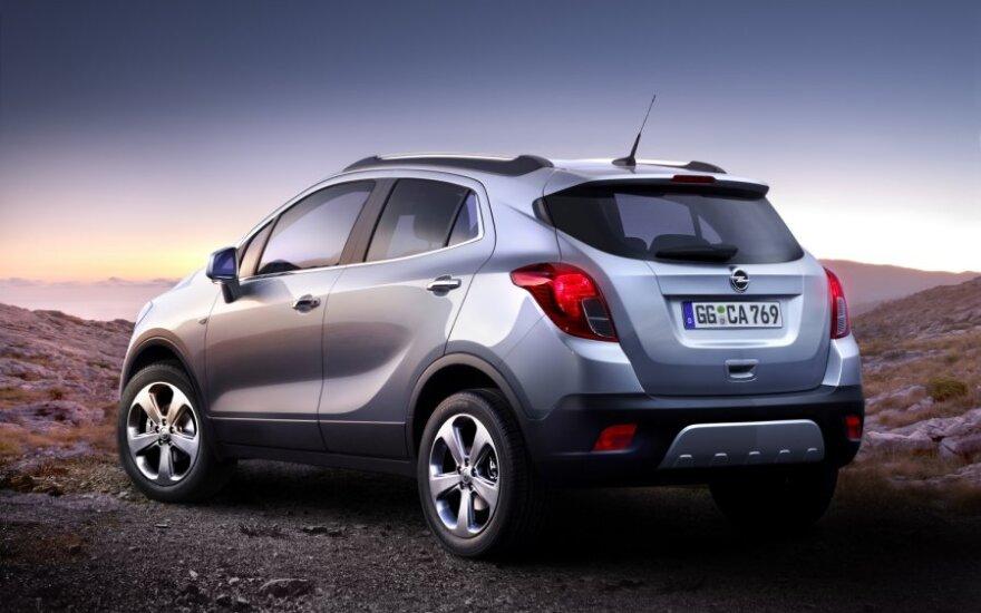 Opel официально представил компактный кроссовер Mokka