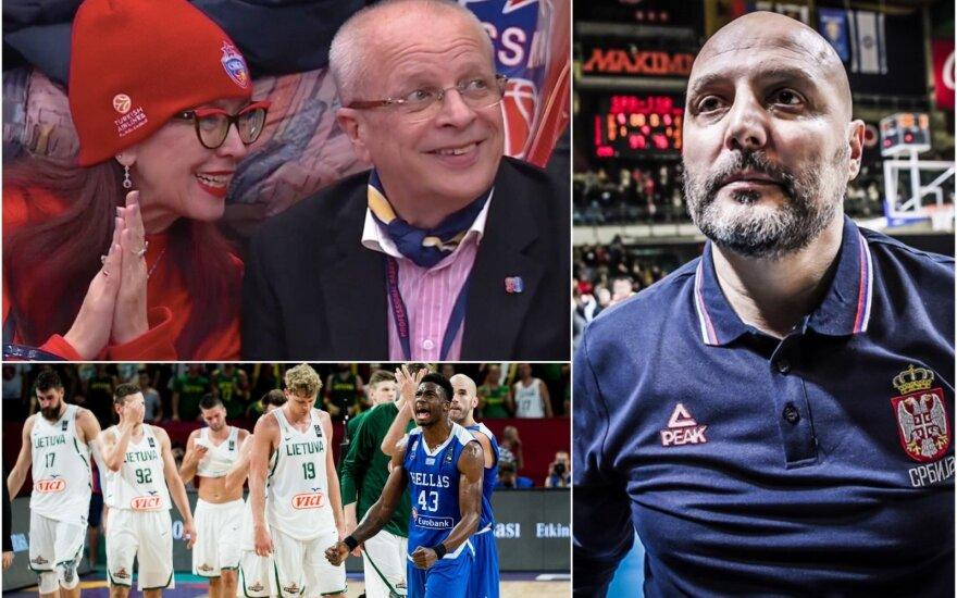 Гомельский убежден, что литовская сборная будет бороться в полуфинале