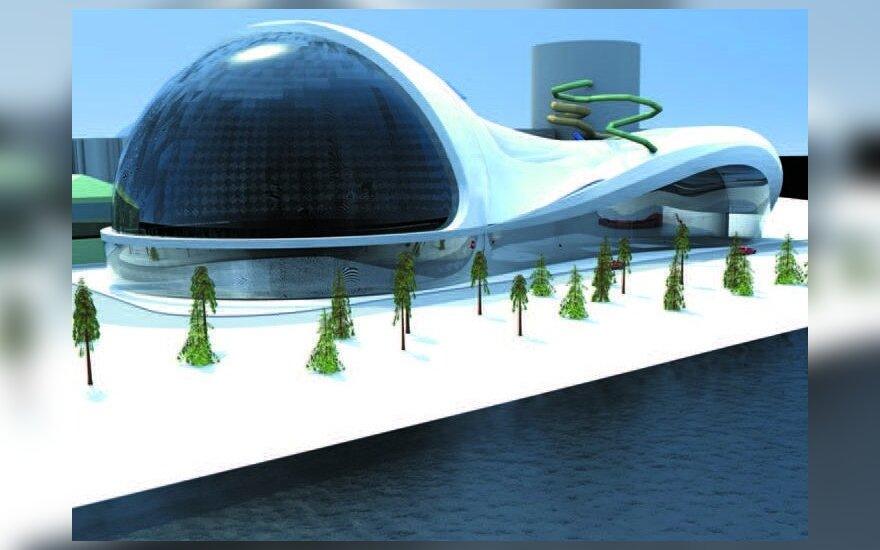 Друскининкай в будущем: пляж круглый год и аэродинамический тоннель