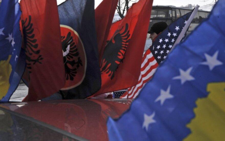 Kosovo vėliavos