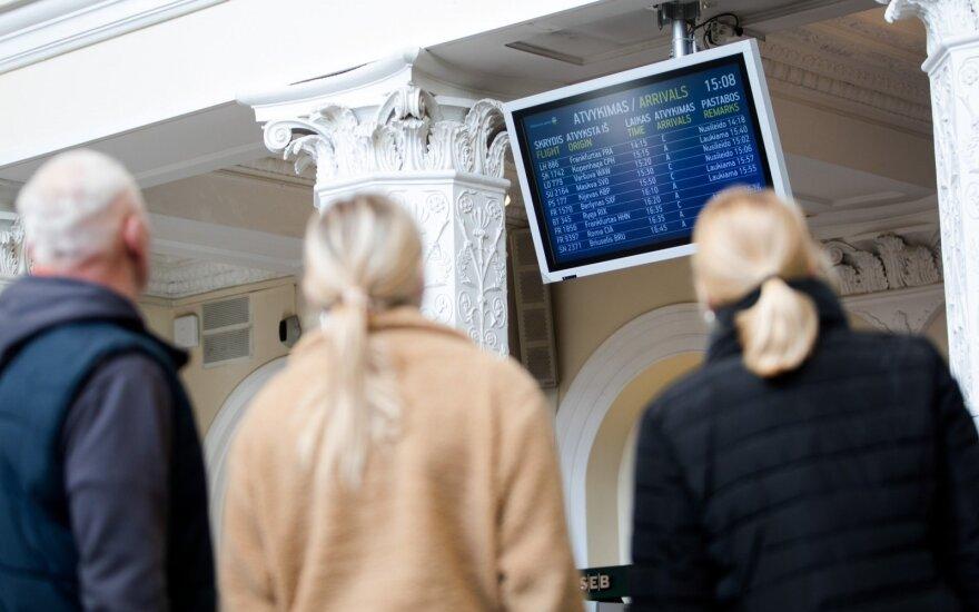 В воздушном пространстве Литвы - стабильное движение