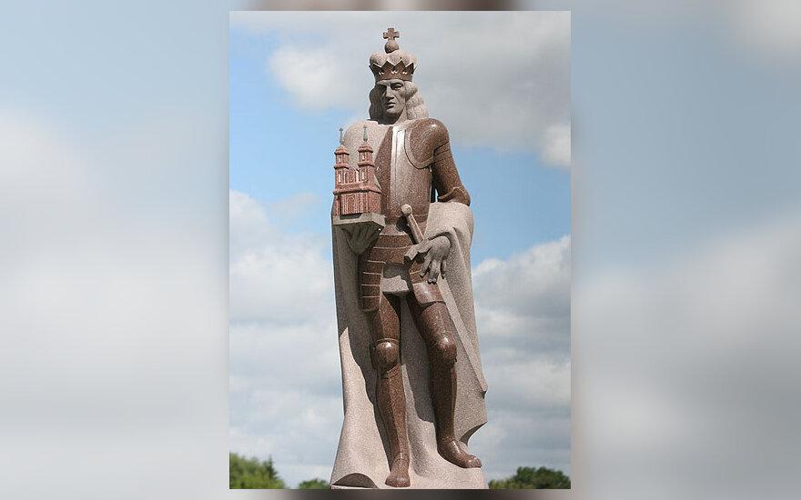 Paminklas Panevėžio įkūrėjui Lenkijos karaliui ir LDK didžiajam kunigaikščiui Aleksandrui